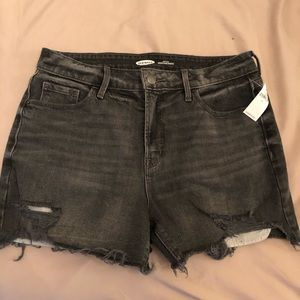 NWT Old Navy Gray Denim Shorts